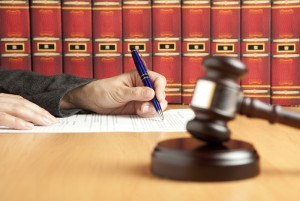 A Judge in a disability hearing deciding on whether to extend disability benefits on the lawyer's case