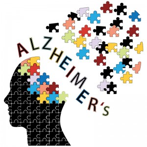 Graphic outlining effects of Alzheimer's Disease