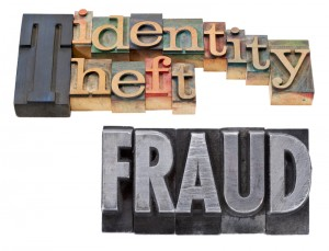 Identity Theft and Fraud Graphic