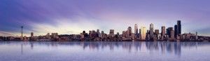 Panoramic view of Seattle Washington