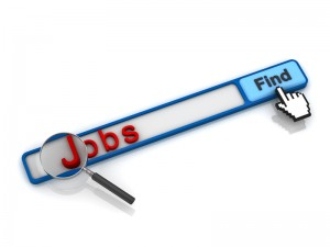 Online jobs search graphic
