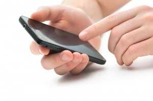 Apple iPhone in the hands of a power user