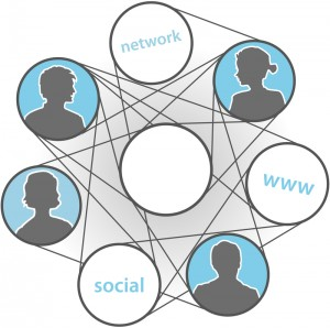 Showing how social media ties people together