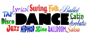 Shows jazz dancing, salsa dances, line dancing, and Latin dancing