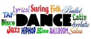 Shows jazz dancing, salsa dances, line dancing, and Latin dancing